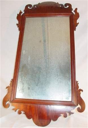 Period Chippendale English mirror, circa 1760