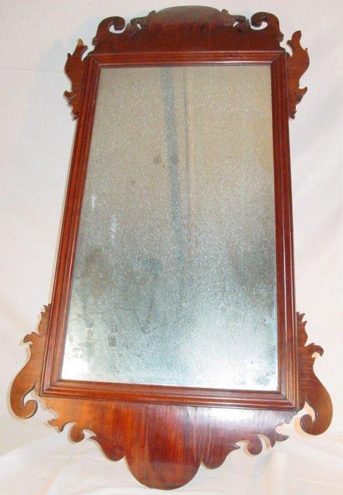 21: Period Chippendale English mirror, circa 1760