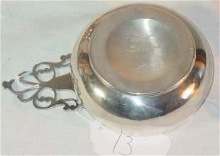 Tiffany & Co sterling silver porringer