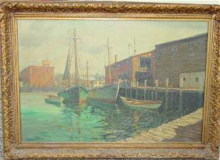 """24"""" x 36"""" oil on canvas - JJ Enwright of Gloucester"""