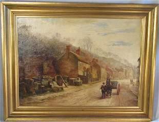FM Reid (Flora Macdonald Reid) oil on canvas