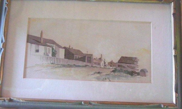 1020: Nantucket JB Reid watercolor