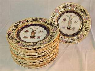 19th c. Mason's Ironstone plates