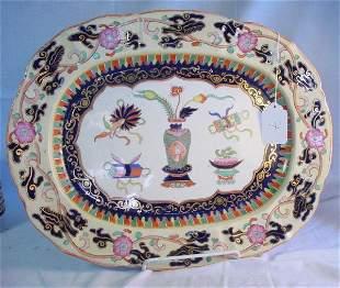 19th c. Large Mason's Ironstone platter