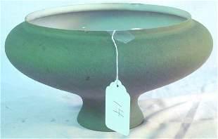 "Handel ""Mosserine"" lamp shade, #164, in green"