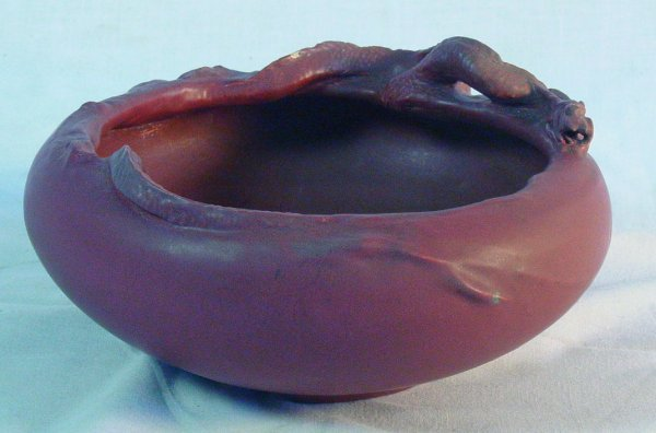 17: Rare Rookwood low bowl, 1905, Oriental form