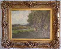 62 Charles P Gruppe oil on canvas
