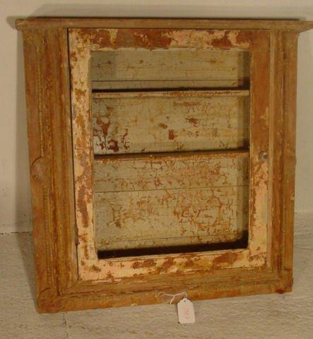 1007: 19th c. wall cupboard