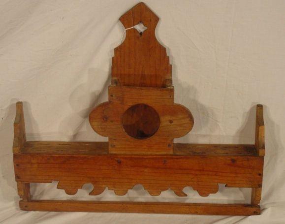 1010: primitive pine spoon rack