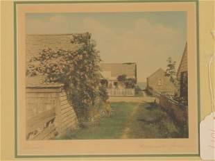 colored Nantucket photograph