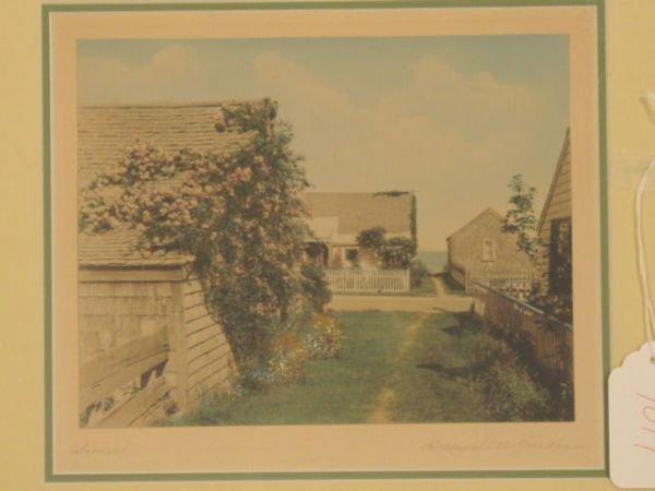 1019: colored Nantucket photograph