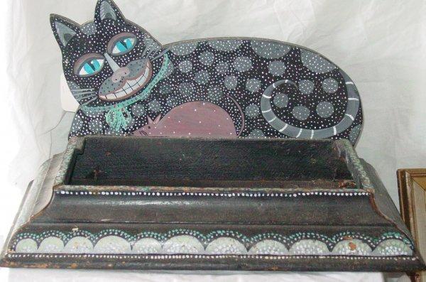 7: Rosebee folk art cat