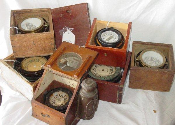8: lot 6 19th c. dry compasses