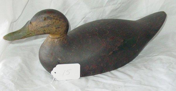 15: Mason Premier grade black duck