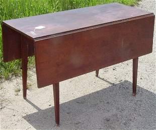 splayleg Hepplewhite dropleaf table