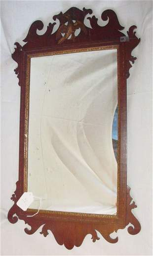 Chippendale looking glass, circa 1770