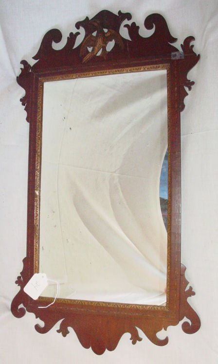 24: Chippendale looking glass, circa 1770