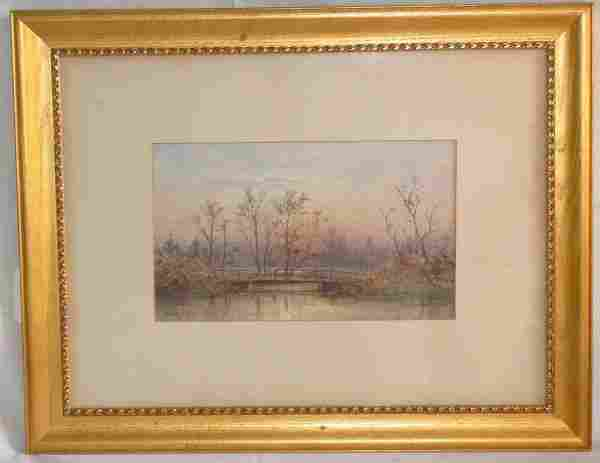 98: Charles Henry Gifford watercolor