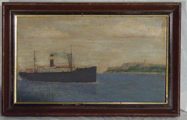 3: oil on board of Tanker