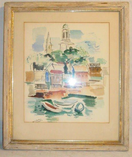 4: Morris Davidson watercolor