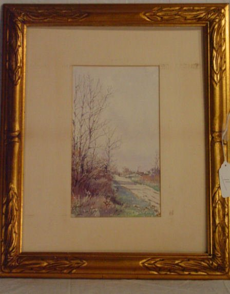 11: Louisa G Sturtevant watercolor