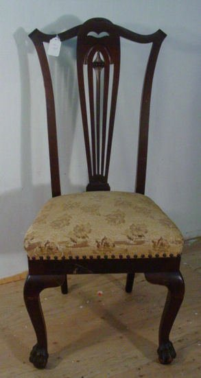 17: Chippendale style chair