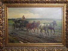 102: CD Wasilewski oil painting