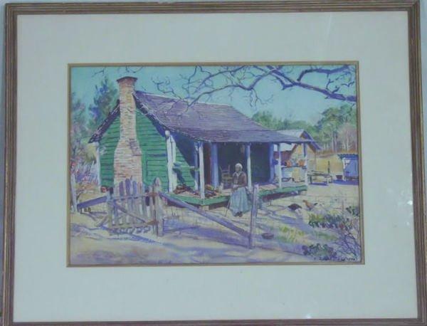 120: Important A. Lassell Ripley watercolor
