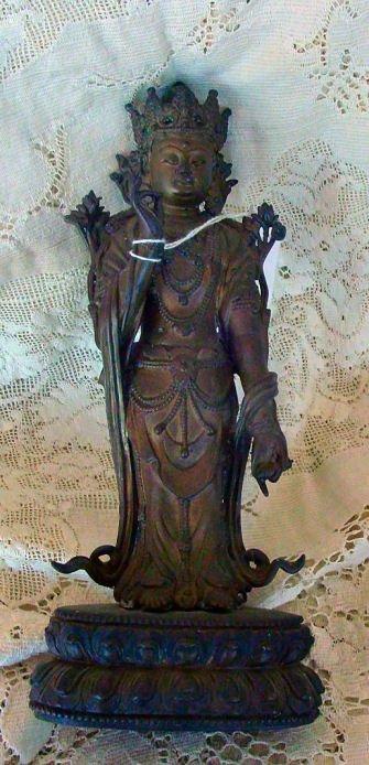 2: antique bronze statue