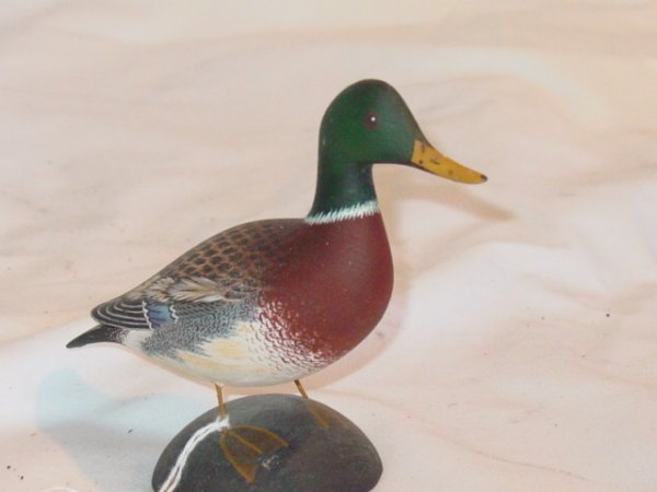 15: Byron Bruffee 1/4 size duck carving