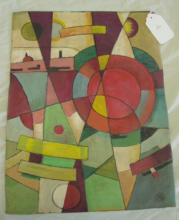 4: Modern abstract painting by SB