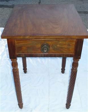 Period 1 drawer Sheraton stand