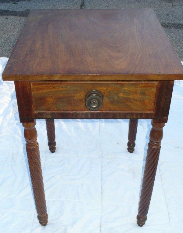 10: Period 1 drawer Sheraton stand