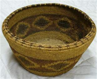 American Indian basket, late 19th c.