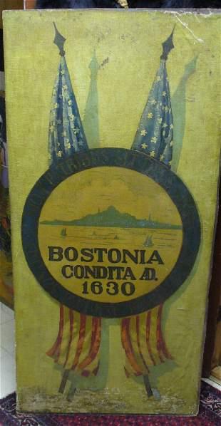 Bostonia Cadet Militia painting