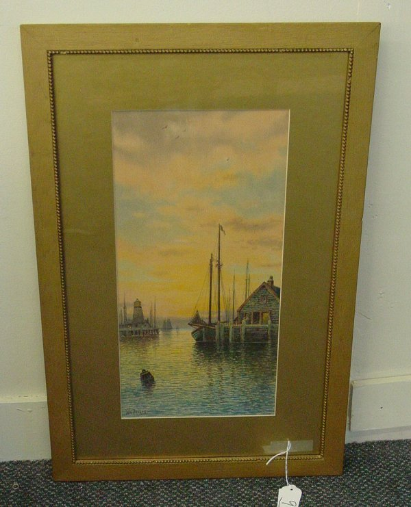 9: Nantucket watercolor by William Paskell