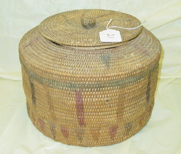 21: Native American Indian basket