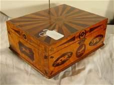 1105: important inlaid document box