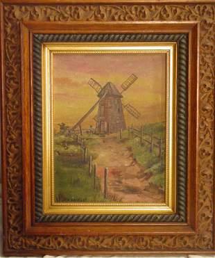 Nantucket oil on canvas