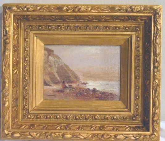 47: oil painting on board by CH Gifford