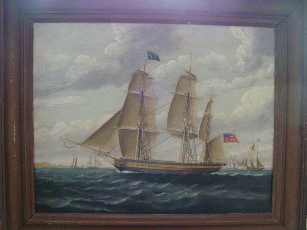 57a: Important ship portrait attr. William Hare