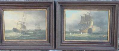 120 pair oil paintings on board James Hardy