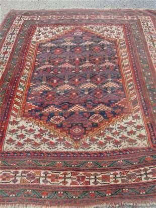 antique North West Persian scatter oriental carpet