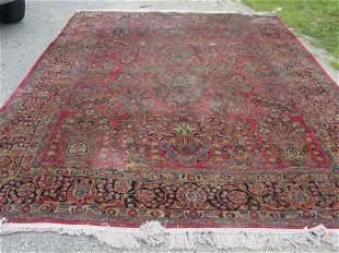 roomsize Persian Sarouk oriental carpet