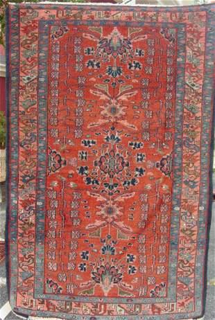 antique Miraban oriental carpet