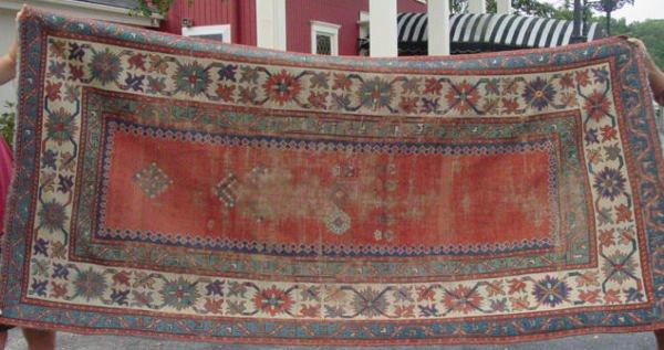 1D: 19th c. Caucasian Talish oriental carpet