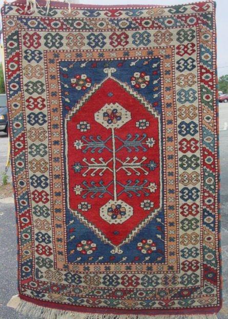 1E: Caucasian oriental carpet