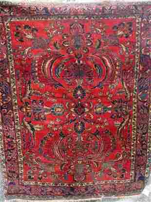 antique Lilihan oriental carpet