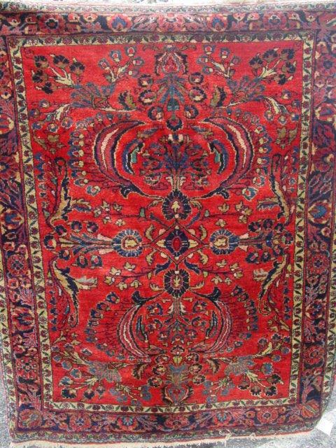 1F: antique Lilihan oriental carpet