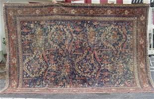 antique Mahal oriental carpet
